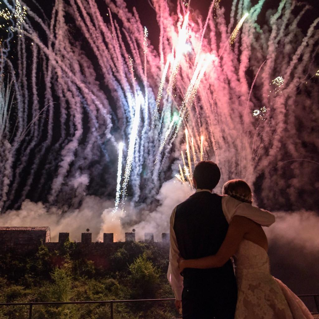 fuochi artificio matrimoni